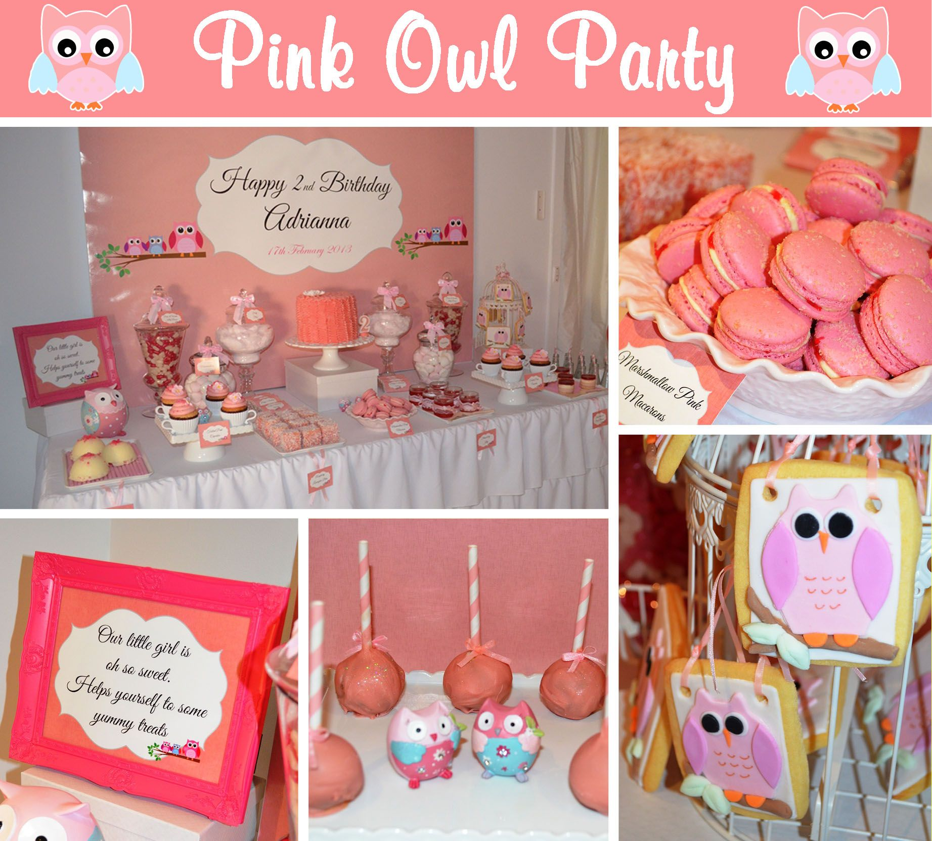 Girls 2nd birthday ideas styled a morning tea for my for 2nd birthday decoration ideas