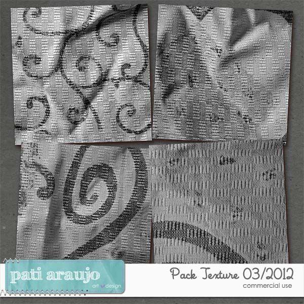 Pacote de texturas 03/2012 (CU) by Pati Araujo
