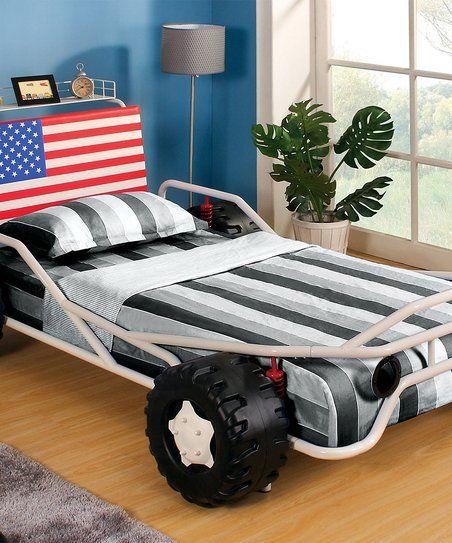 Serendipity American Flag Ferdinand Race Car Bed Zulily