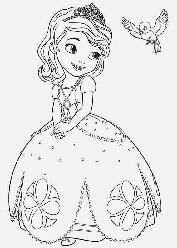 Ausmalbilder Sofia Die Erste Auf Einmal Prinzessin