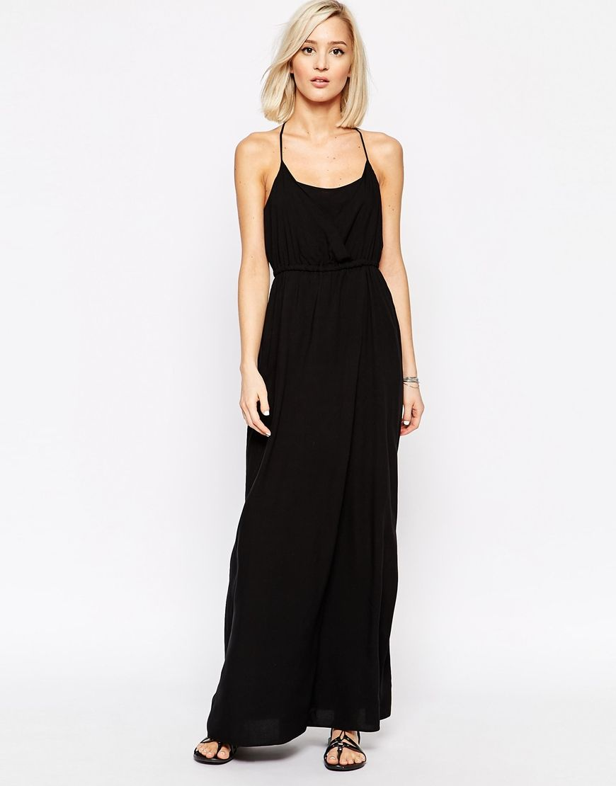 41ff35a935e6 Image 1 of Vero Moda Cross Back Maxi Dress