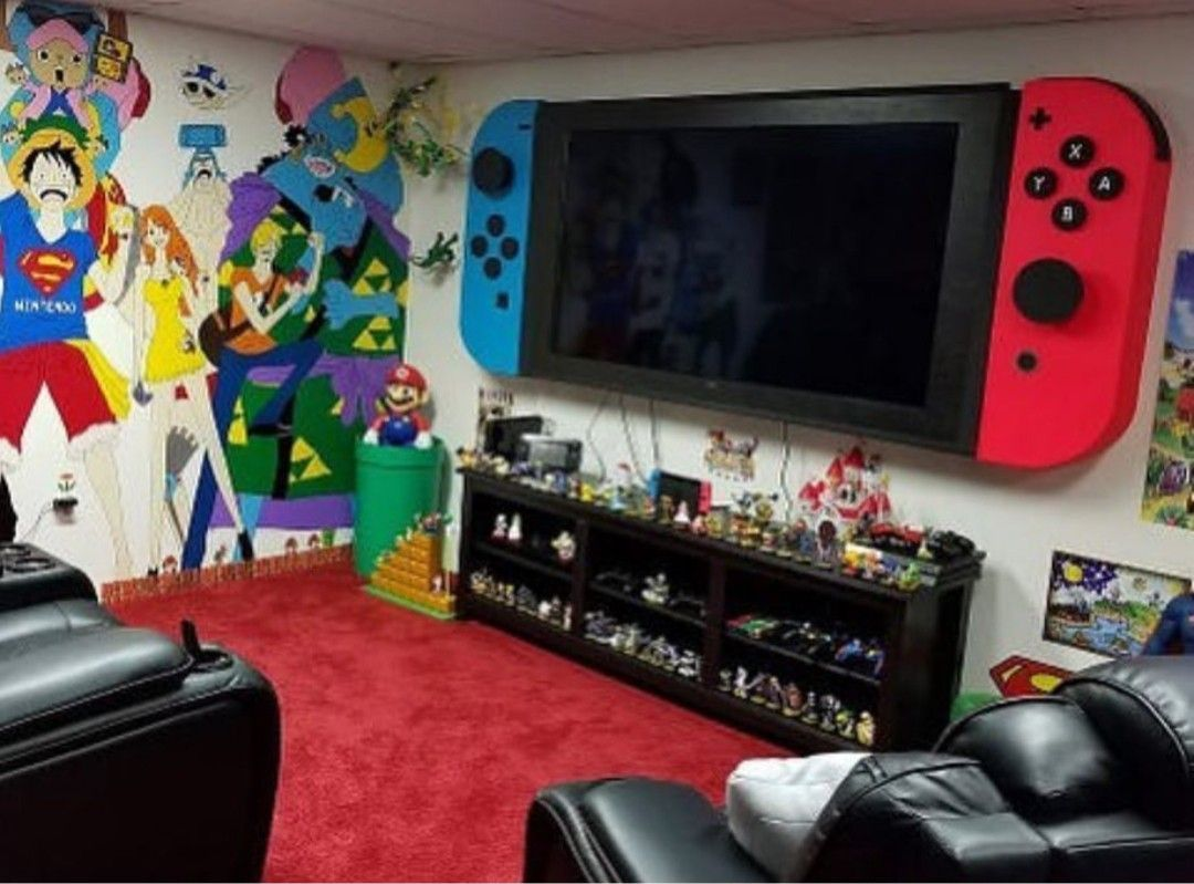 Nintendo Switch Game Room Nintendo Switch Game Room Game Nintendo Room Switch Retro Games Room Boy Room Themes Game Room