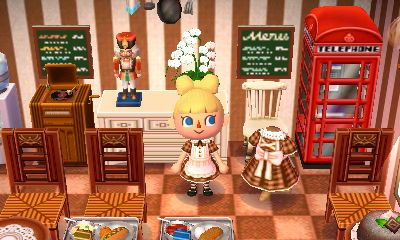 animal crossing how to get the cafe