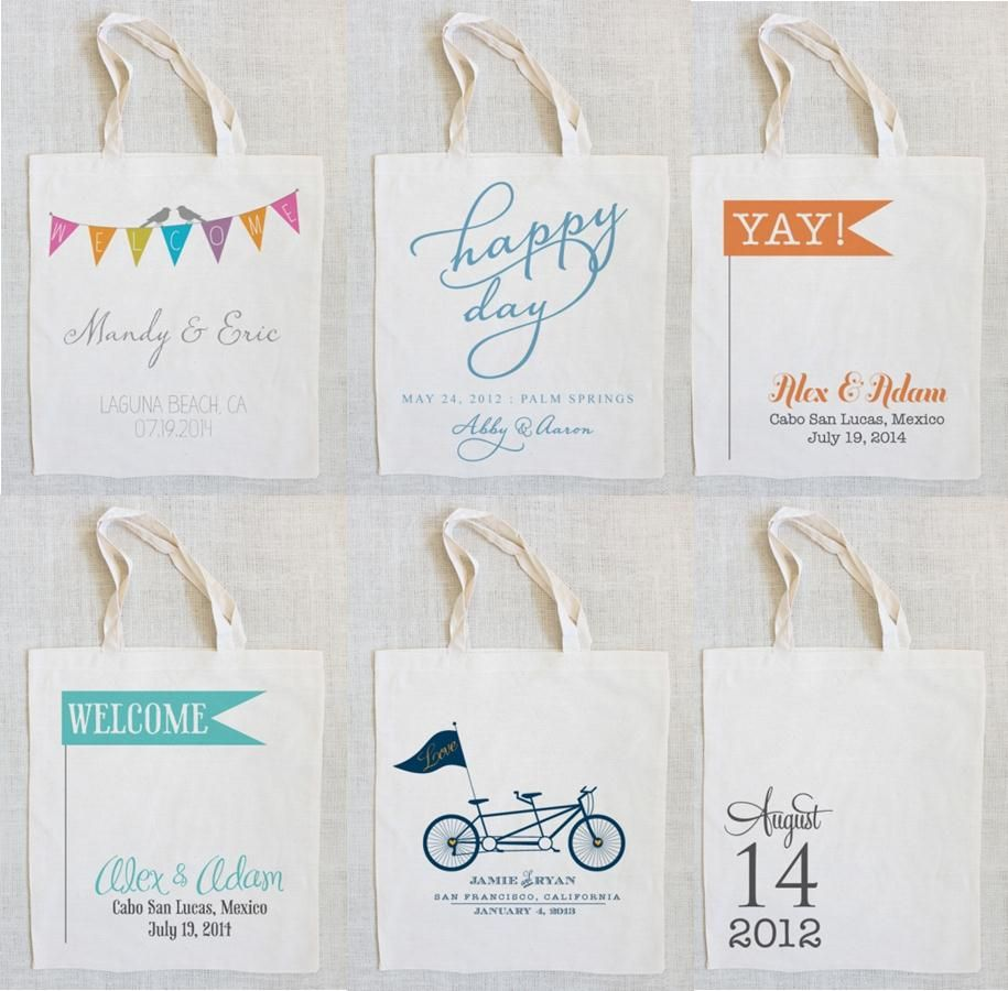 Wedding Planning Welcome Bags
