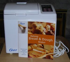 oster bread machine manual