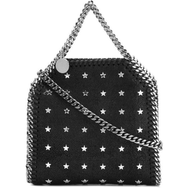 f584b1267d50 Stella McCartney star-studded mini Falabella tote (€900) ❤ liked on Polyvore