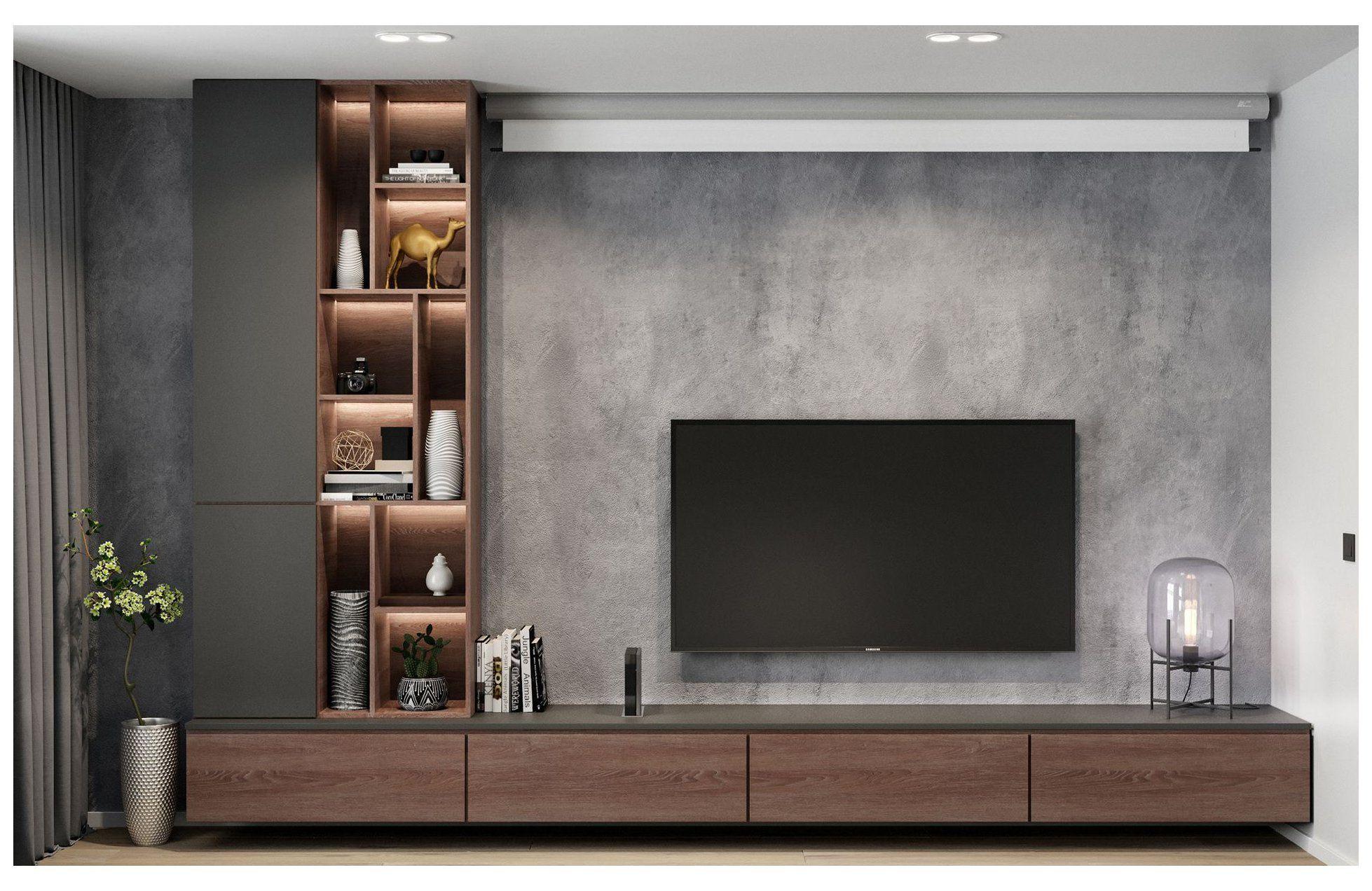 Modern Apartments   20 living room tv wall modern tv units ...