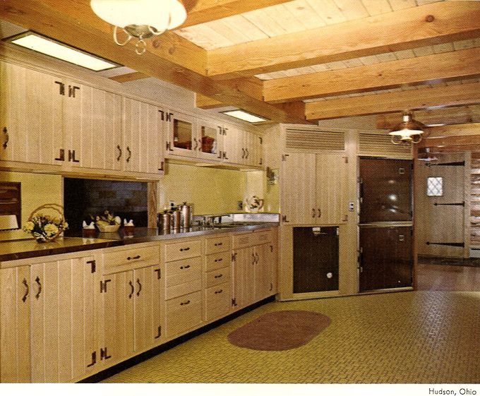 1960 S Kitchens Bathrooms More Wood Mode 1960s Kitchen Knotty Pine Kitchen