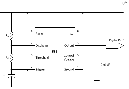 555 Timer Calculator Electronic Circuit Projects Electronics Circuit Electronic Schematics