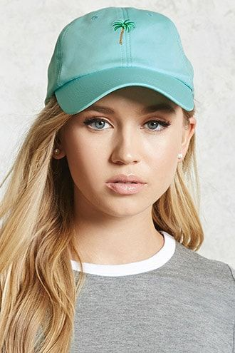 11d0fd357515f7 Palm Tree Baseball Cap | Products in 2019 | Leather baseball cap ...