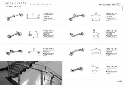 Hotel Stair Handrails Parts Accessories Manufacturers Factory