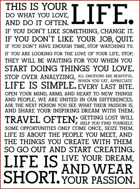 IF YOU CANT REMEMBER YOUR PASSION, THEN YOU NEED TO KEEP READING THIS TIL IT  COMES TO YOU