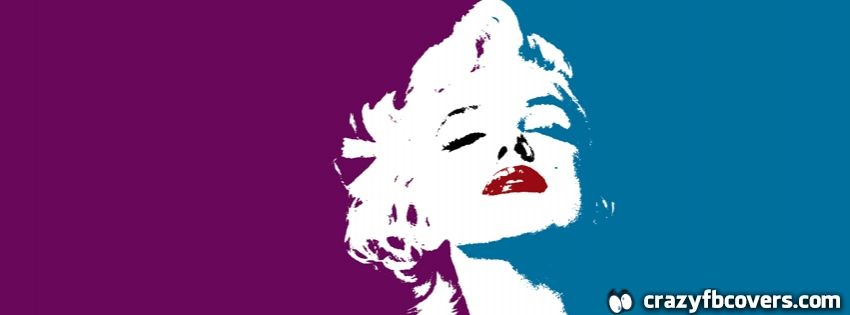 Marilyn Monroe Pop Art Facebook Cover Facebook Timeline Cover