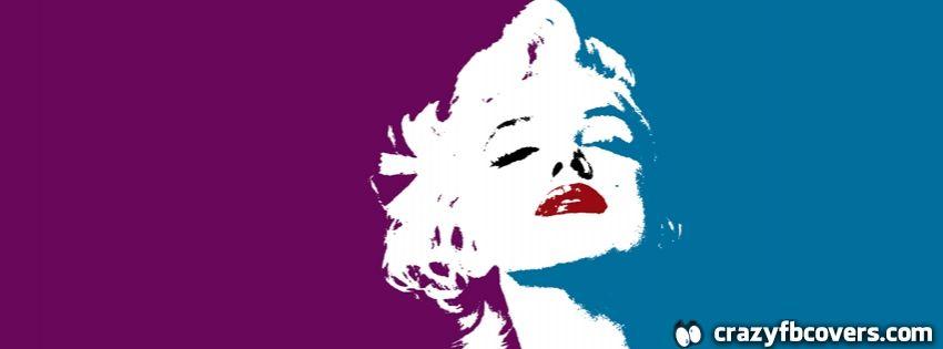 Marilyn Monroe Pop Art Facebook Cover Facebook Timeline Cover