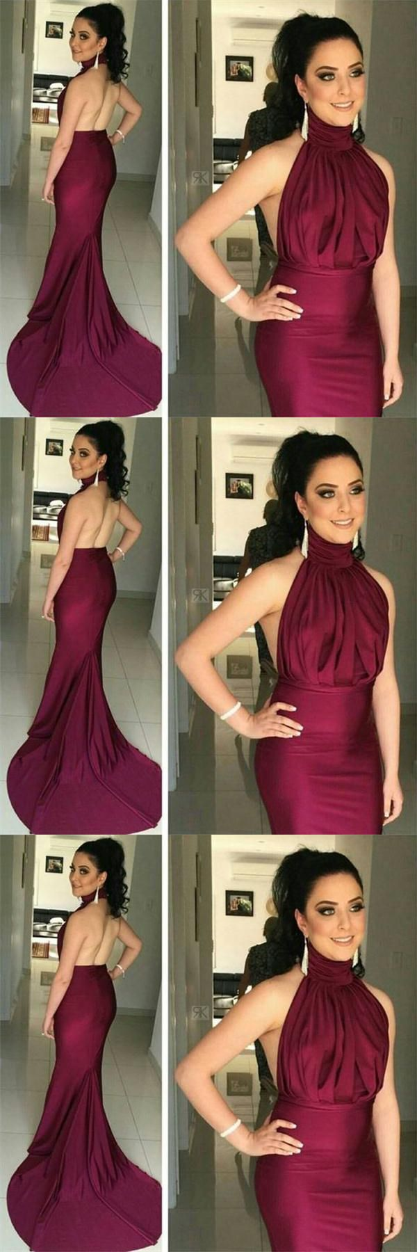Beautiful gorgeous long mermaid prom gownssimple cheap prom dresses