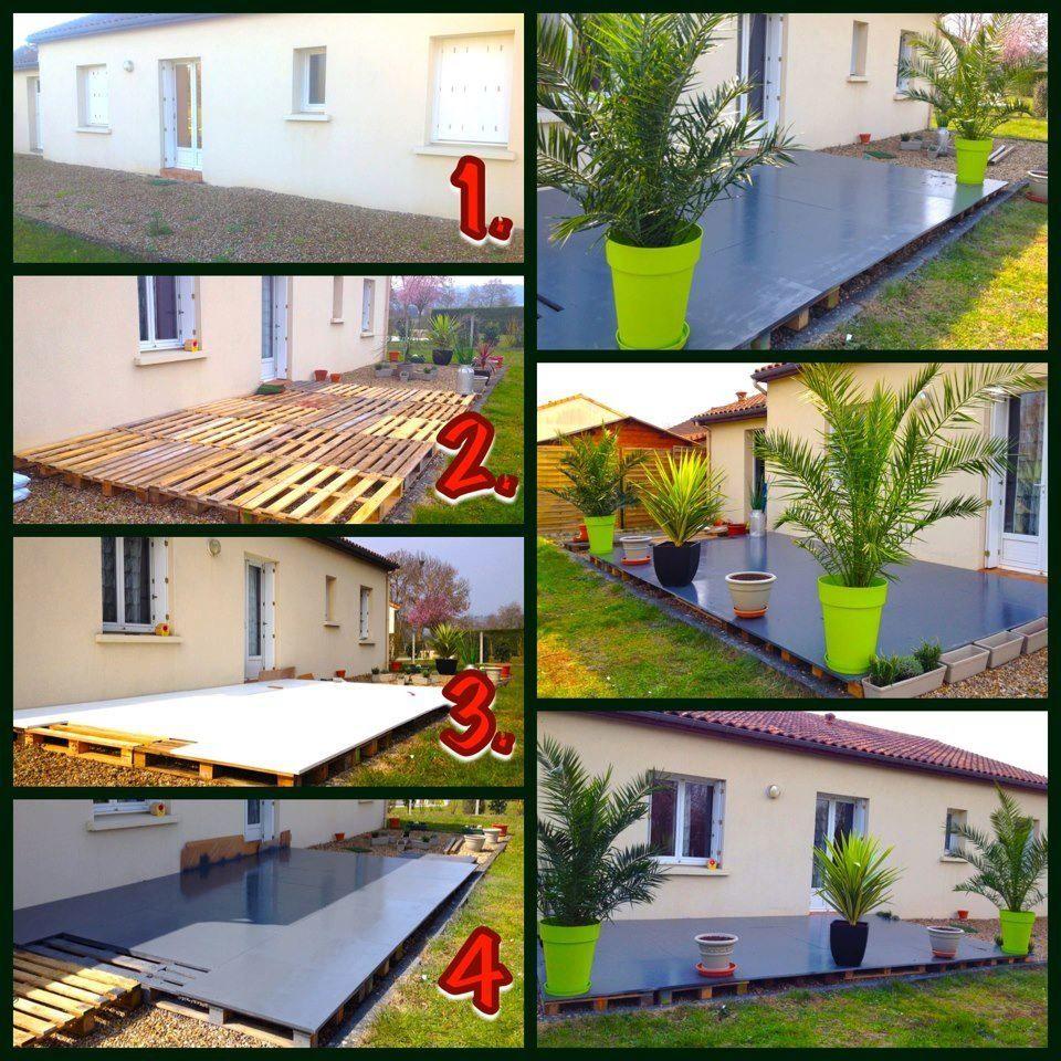 Aménagement Jardin Pas Cher terrasse | deco jardin pas cher, amenagement jardin