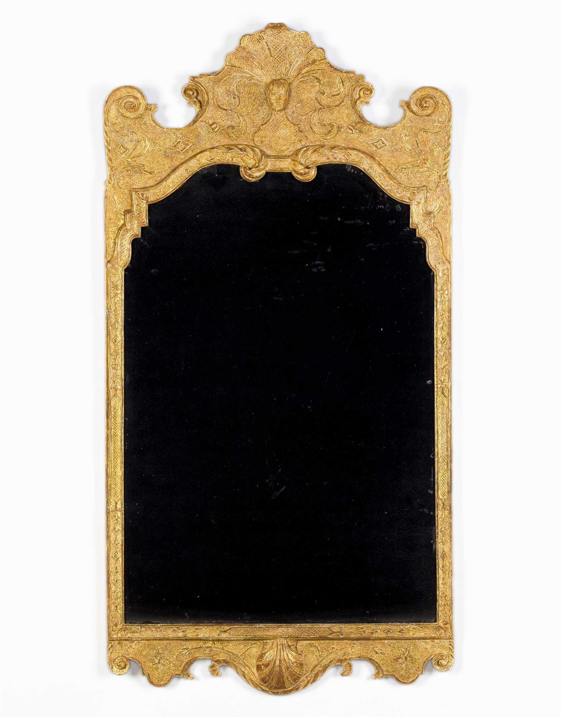 A George I Gesso Mirror