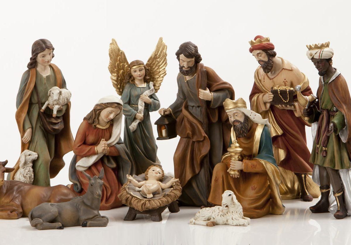 Pin By May Urrieta On Navidad Nativity Set Christmas Nativity Set Wood Carving Patterns