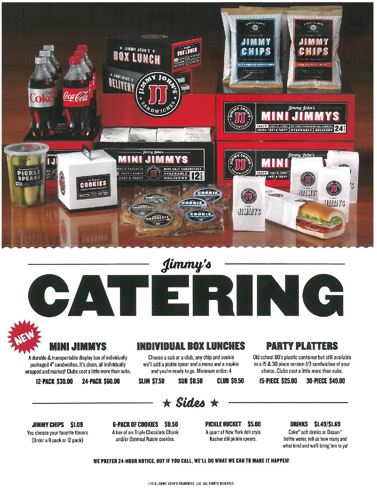 jimmy johns catering menu prices | catering menu prices | catering