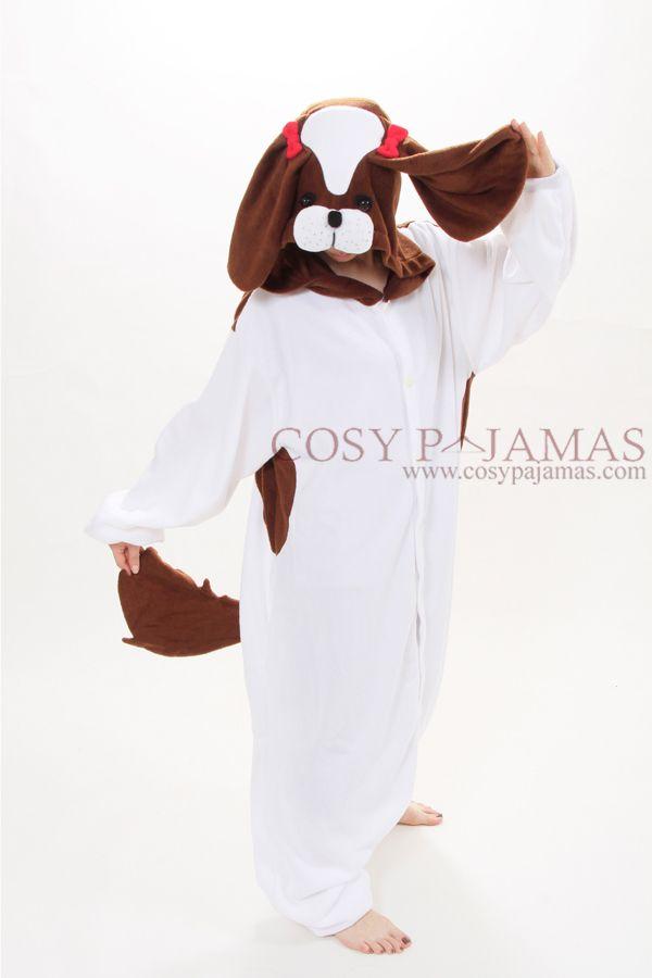 Animal Adult Onesie Shih Tzu Dog Kigurumi Pajama Costume 112 ... 219b0c80b