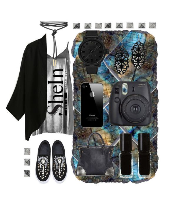 """SHEINSIDE CONTEST :) KIMONO"" by sandra-bo ❤ liked on Polyvore featuring River Island, WithChic, Fuji, Tsovet and The New Black"