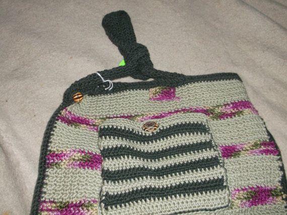 Crocheted Purse by HoffersHobbies on Etsy