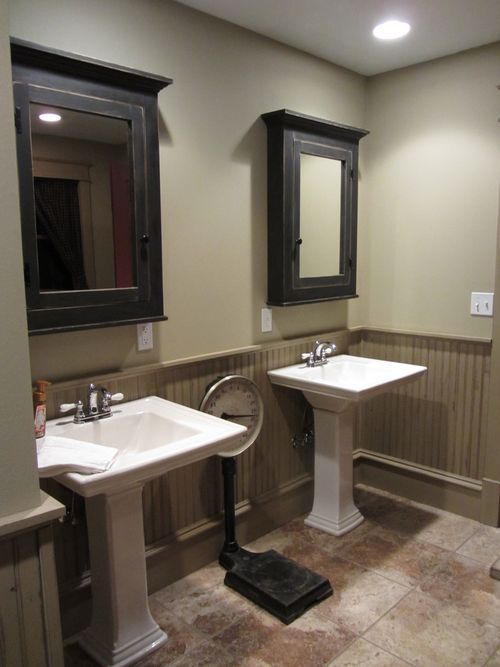 Remodeling Bathroom With Beadboard beadboard upper wall with wainscoting to lower wall - google