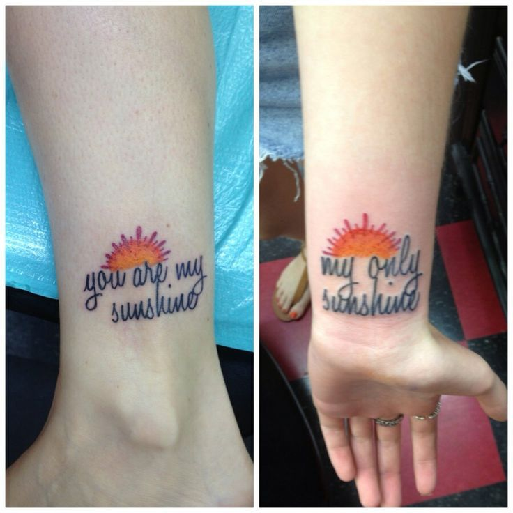 Tattoo Ideas You Are My Sunshine: You Are My Sunshine Tattoo - Google Search