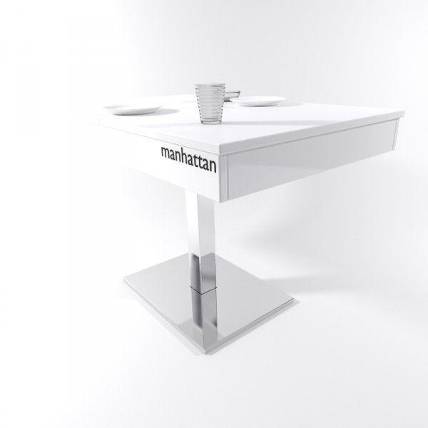Mesa para cocina Manhattan | Manhattan, Mesas de cocina y Sillas de ...