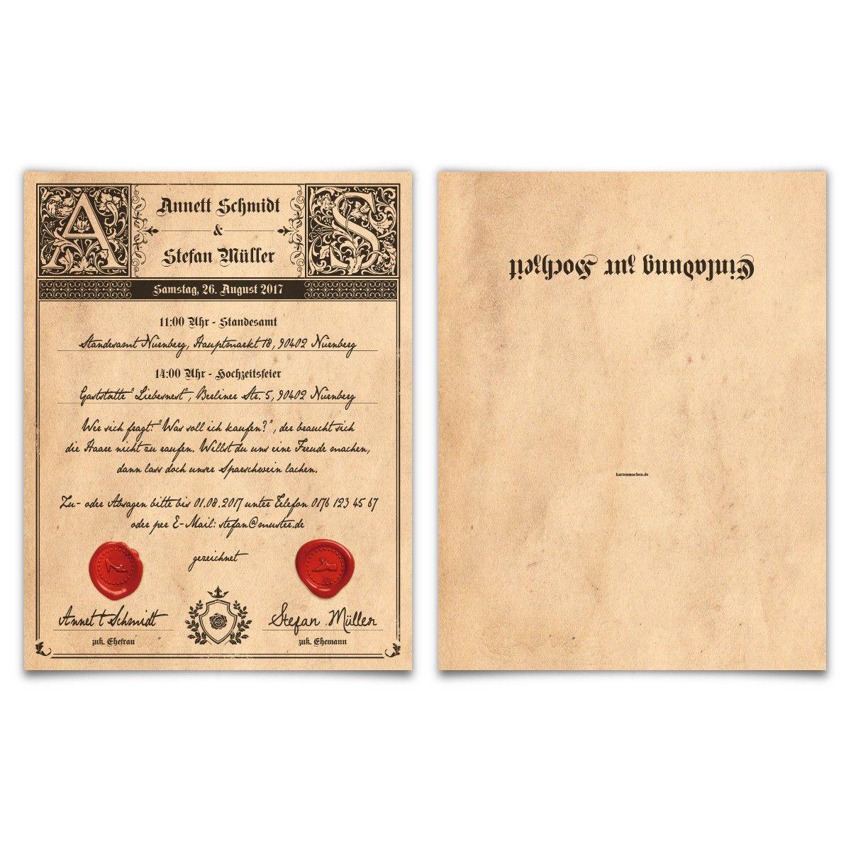bildergebnis für einladungskarten hochzeit texte gothic