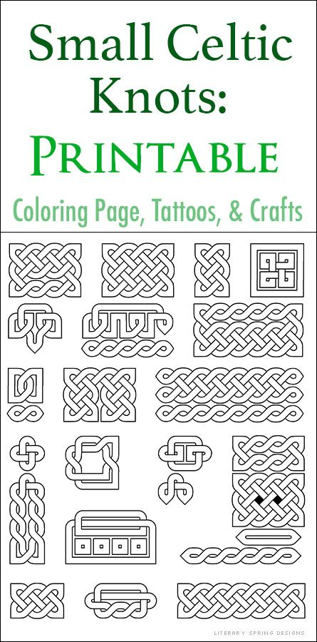 photo regarding Printable Celtic Knot Patterns identify Very little Printable Celtic Knots crafts Celtic knot, Celtic