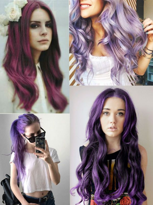 Top 20 Choices To Dye Your Hair Purple Colorful Hair Extensions
