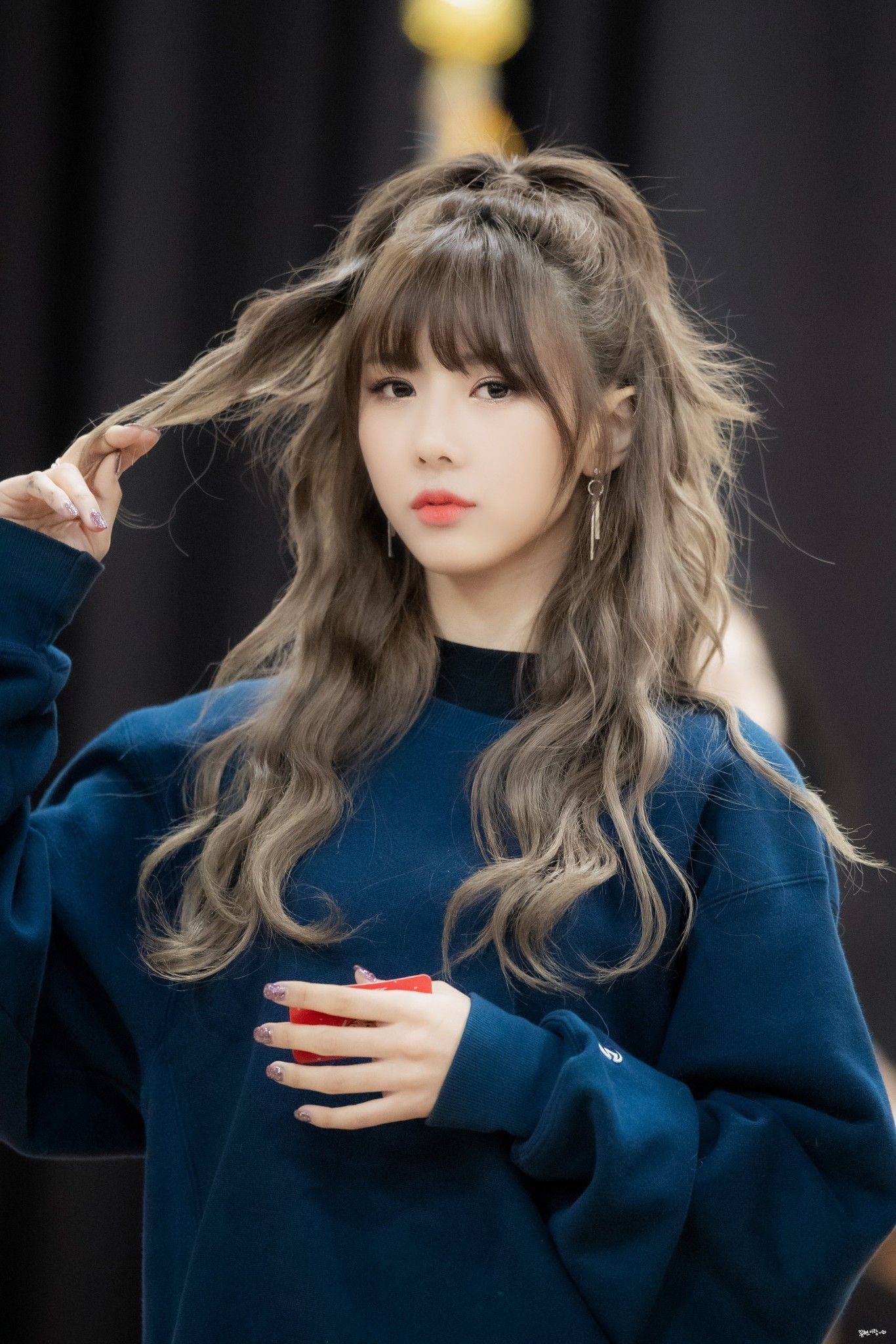 Pin By The Production On Kgirls Korean Hair Color Hair Styles Kpop Hair