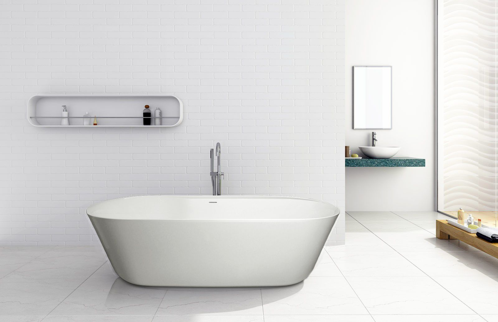 Lavish Bring The Feeling Of Zen Into Your Bathroom With The