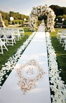 Gorgeous Runner By Original Wedding Runners Love This Runner Wedding Ceremony Decorations Wedding Aisle Wedding
