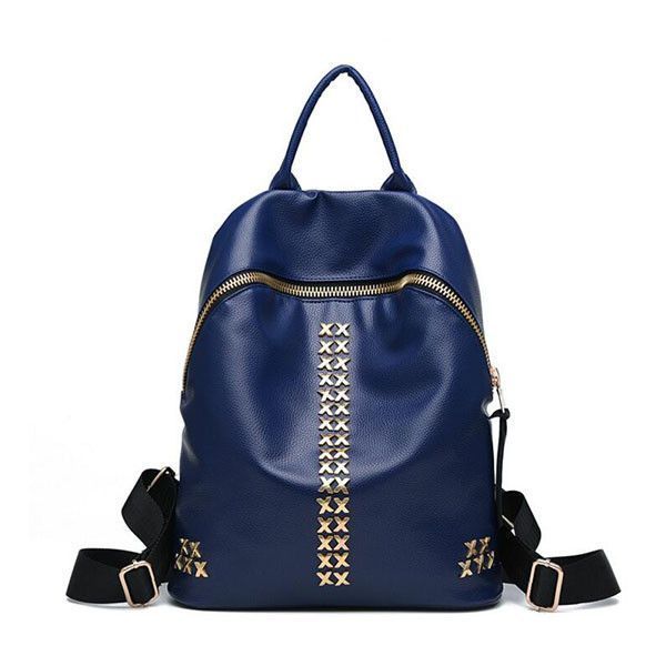 d7fa9da9140 ALESSIA BACKPACK | Products | Fashion backpack, Girls bags, Leather ...