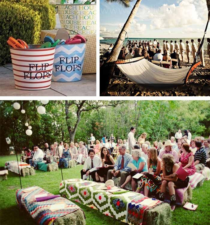Relax Camping Wedding Guest