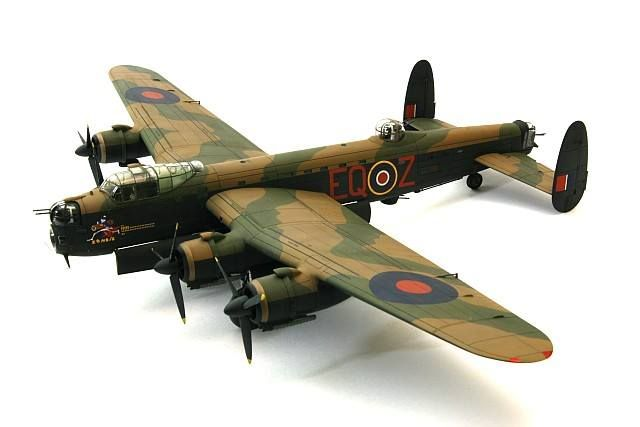 Airfix 1:72 AVRO Lancaster B.II, built by Rob Ludlow