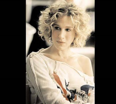 Image Result For Carrie Bradshaw Season 5 Short Hair Styles Curly Hair Styles Curly Hair Inspiration