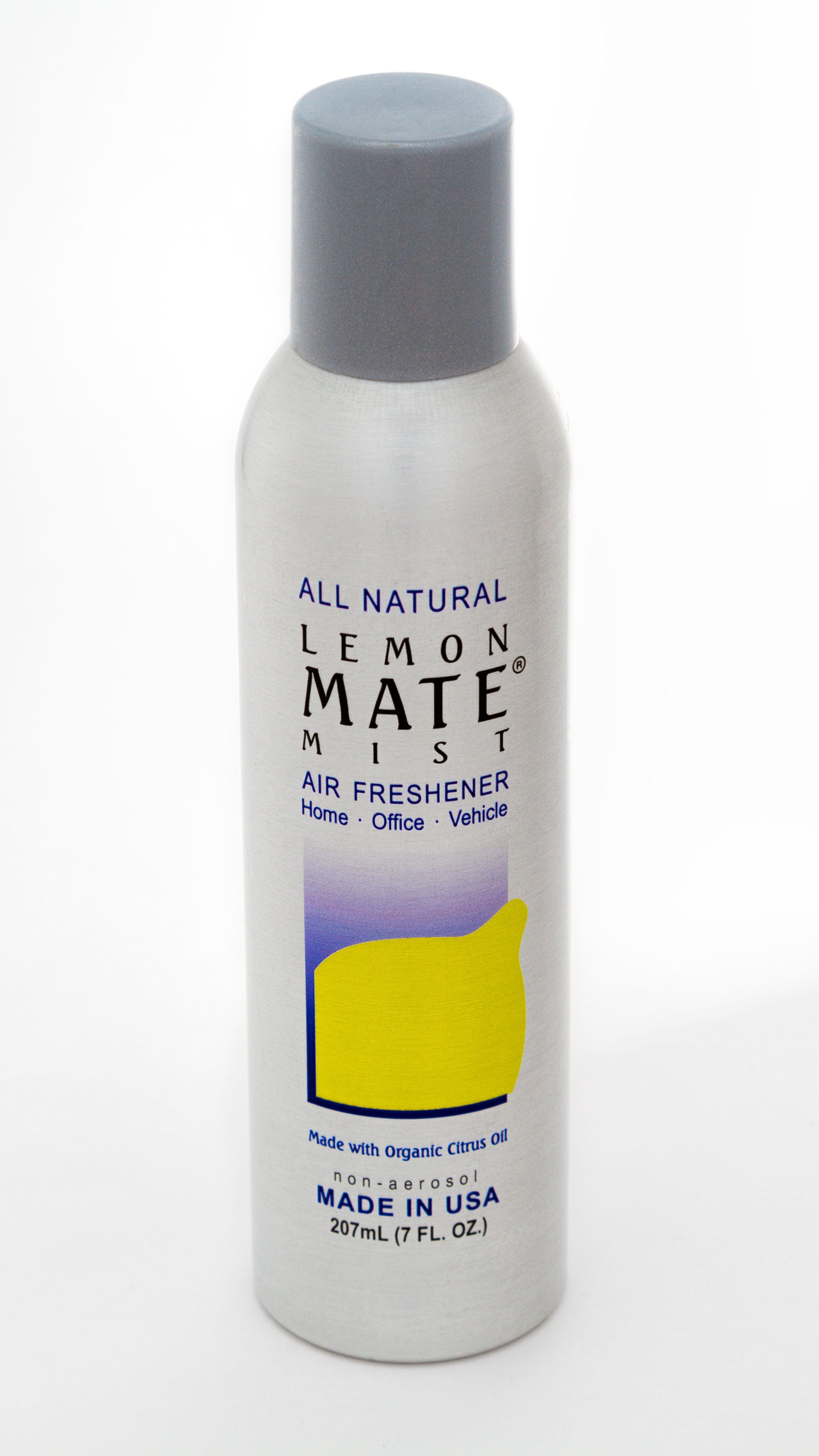 All Natural LemonMate Mist in a 7oz nonaerosol bottle