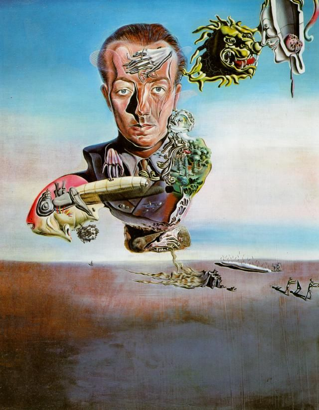 Connu Very nice caricature of Salvador Dali by Zaliko | The Best  FY54