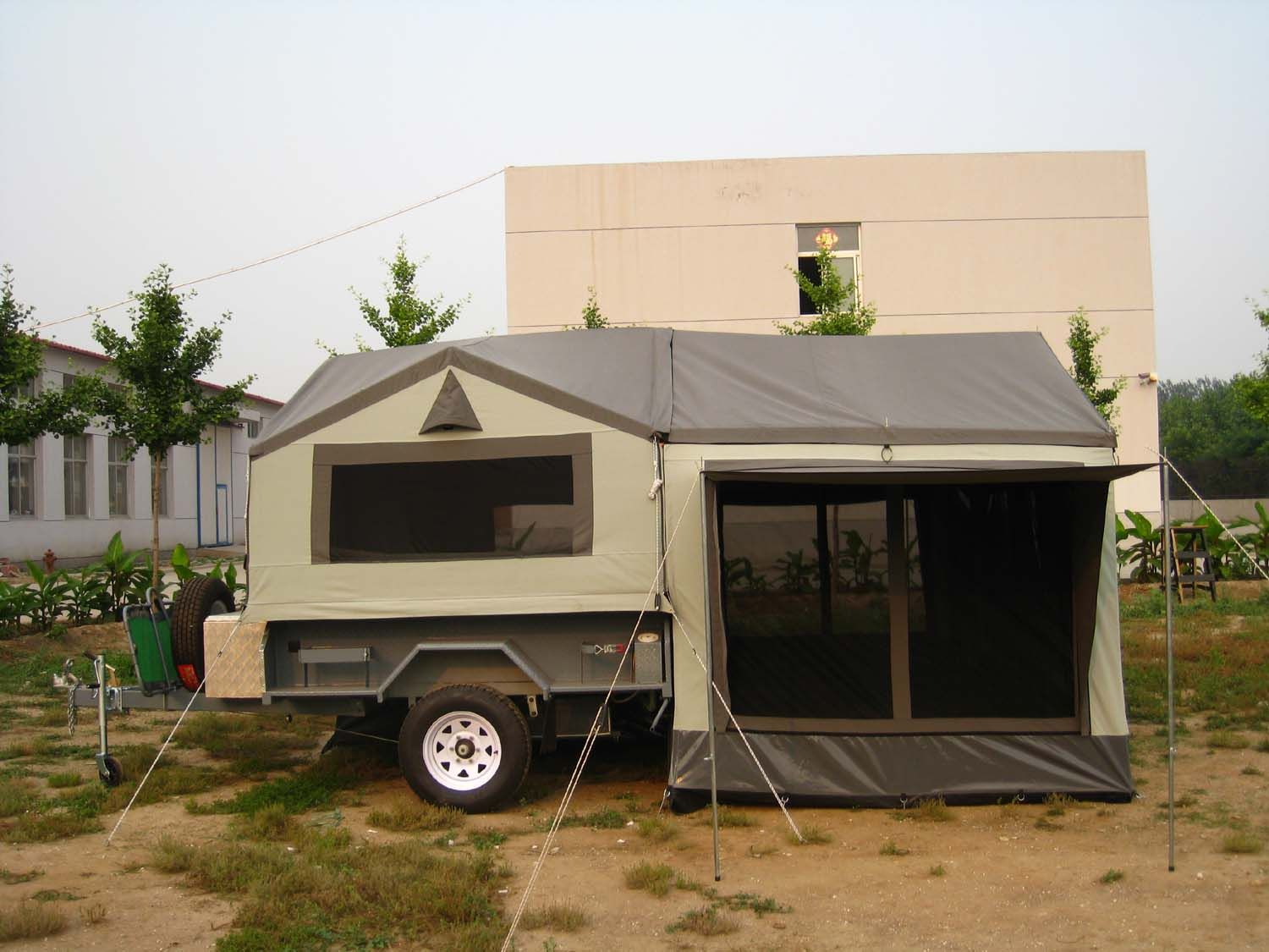 Camping Trailers Camping Tips And Tricks For Beginners Camper Trailer Tent Camping Trailer Trailer Tent