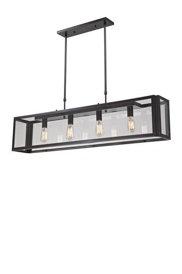 Parameters 4-Light Pendant - Bronze by Industrial Rustic Lighting on @HauteLook