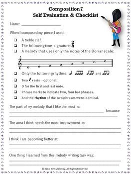 Ten Composition Tasks For Middle School Musicians Student