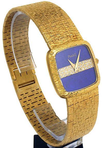 2c51ebfc4b69b Piaget - Montre Vintage - Or et Diamants   Bijoux   Co - Piaget ...