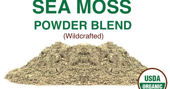 Sea Moss Irish Moss Blend Multi Mineral Supplement Sea Vegetable Blend Sea Moss Sea Vegetables Irish Moss