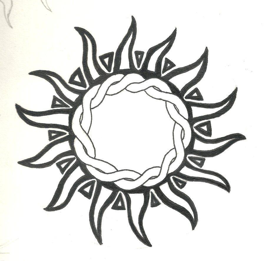 sun tattoo summer pinterest. Black Bedroom Furniture Sets. Home Design Ideas