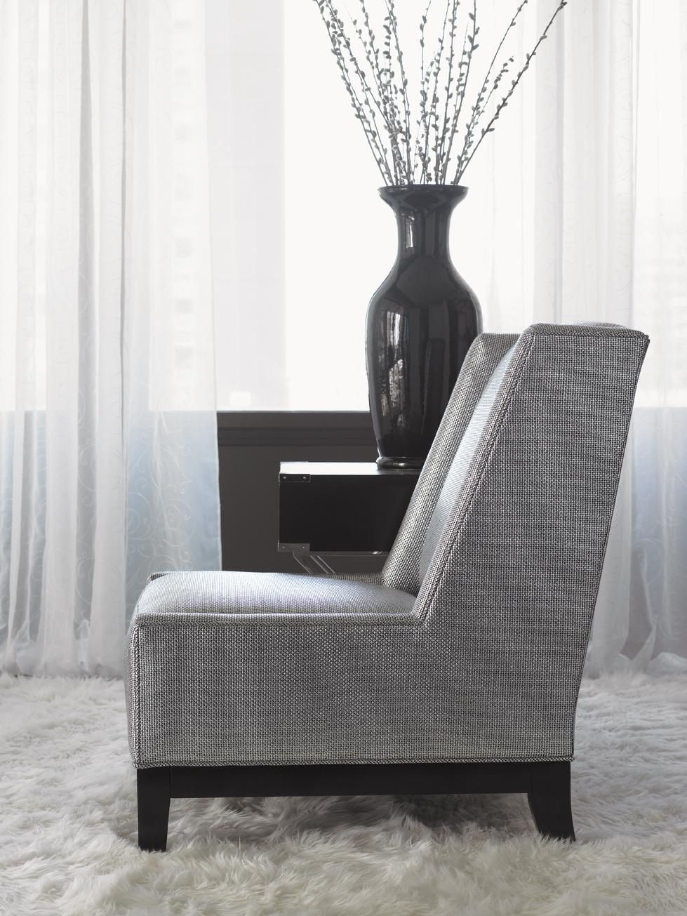 Lexington Upholstery Pearl Chair With Wood Base By Lexington At Baeru0027s  Furniture