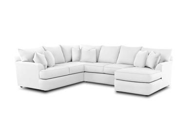 Shop For Simple Elegance Findley Sectional, And Other Living Room  Sectionals At Furniture Solution In Bear, DE, Delaware, New Castle County.