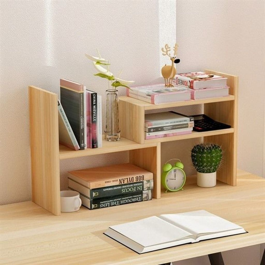 30 Splendid Bookshelf Design Ideas For Home Small Office Storage Small Bookcase Bookshelf Desk